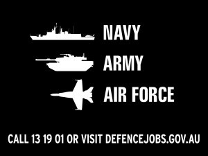 Defence Force Recuiting Logo